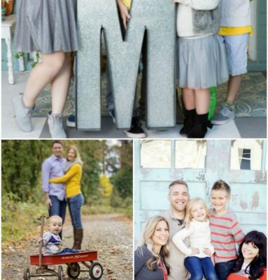 31+ family picture ideas with props