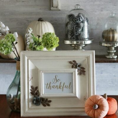 Thanksgiving dining room decorations