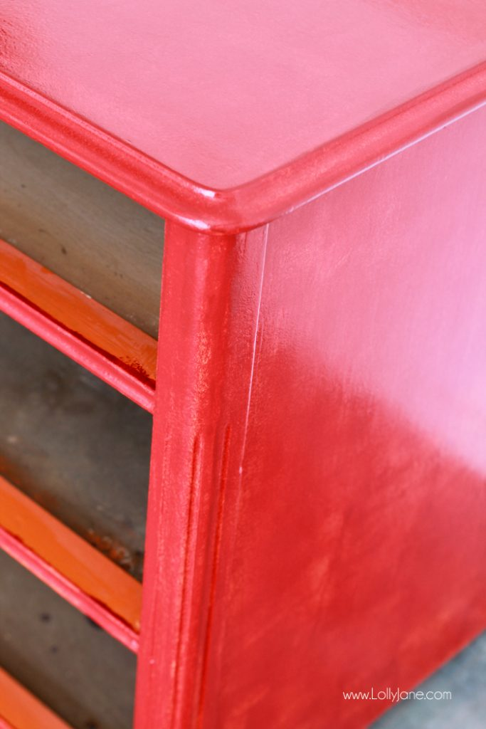 Easy dresser makeover... click to to see the beautiful after!