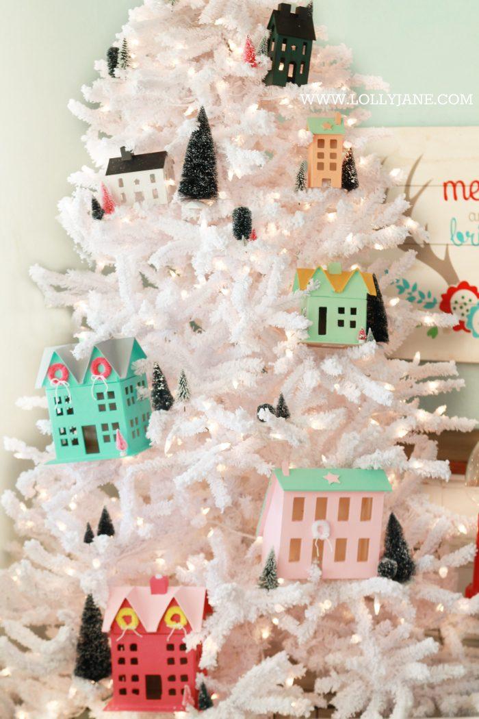 Village Christmas Tree Lolly Jane