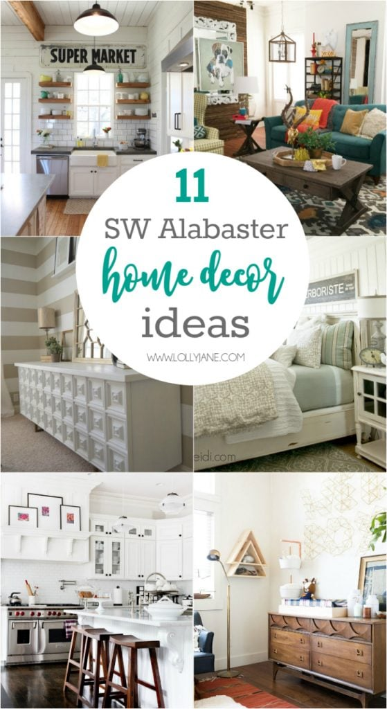 La-Z-Boy Design Dash Challenge! Such a fun time decorating this colorful room! Click through for sources and decor ideas! Love SW Alabaster White wall color too!