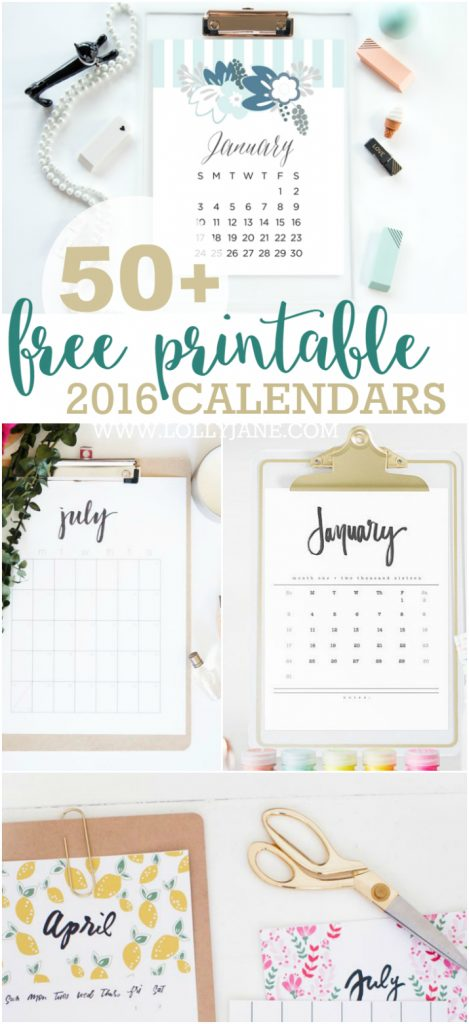 2016 free printable calendars lolly jane for Photo templates from stopdesign image info