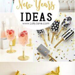 23 DIY New Years ideas
