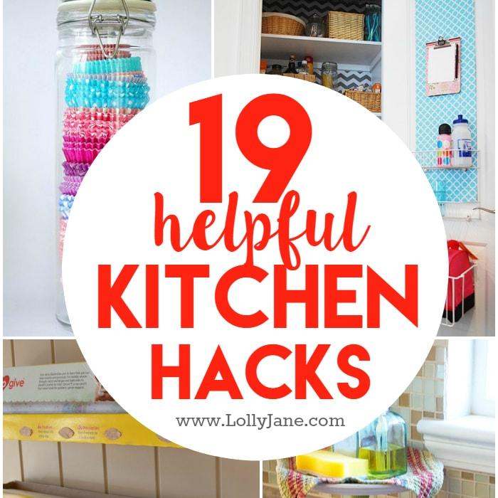 19 kitchen hacks