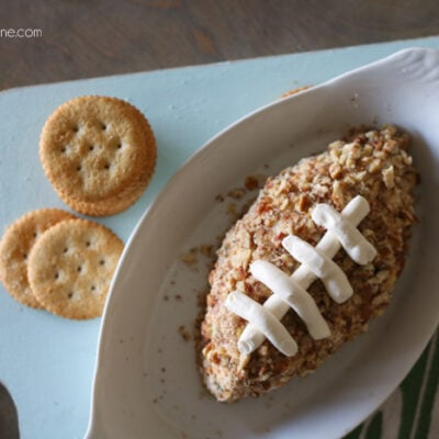 Game Day salami cheese ball