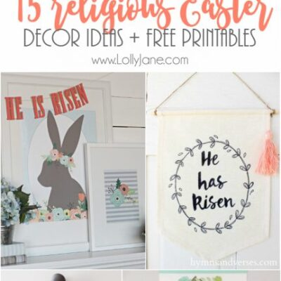 15 religious easter decor ideas