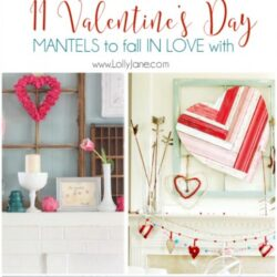 11 Valentine's Day mantels to fall in love with