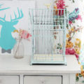 Easy Metal Painted Birdcage Makeover, so cute!!