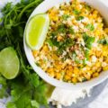 Yummy Street Corn- easy recipe! via MyNameIsSnickerdoodle.com