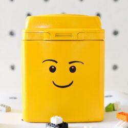 Easy DIY LEGO storage