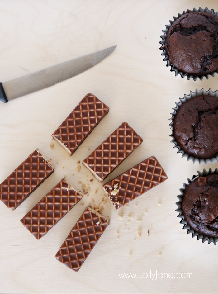 Nutty Bar Cupcakes. Recapture your childhood taste buds with these yummy peanut butter chocolate cupcakes. You'll love this easy cupcake recipe!