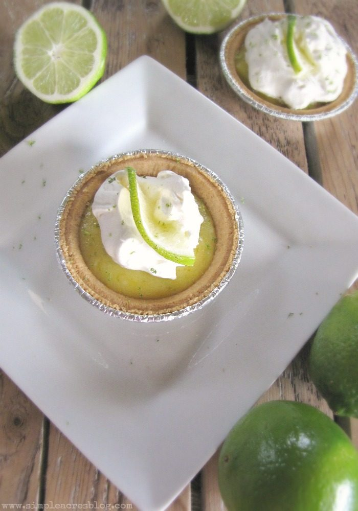 Key Lime Pie Dessert via SimpleAcresBlog.com. YUM!