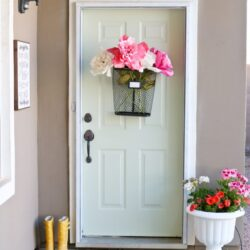 easy spring porch refresh