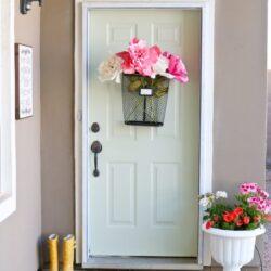 easy spring porch refresh
