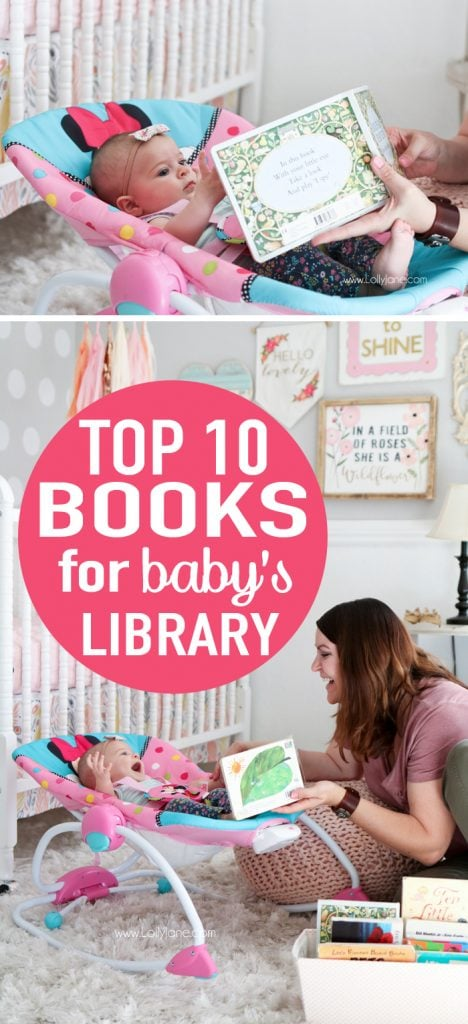 top 10 books to have in baby's library