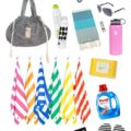 Summer Beach Bag Essentials... grab this list of everything you need for a fun day on the beach!