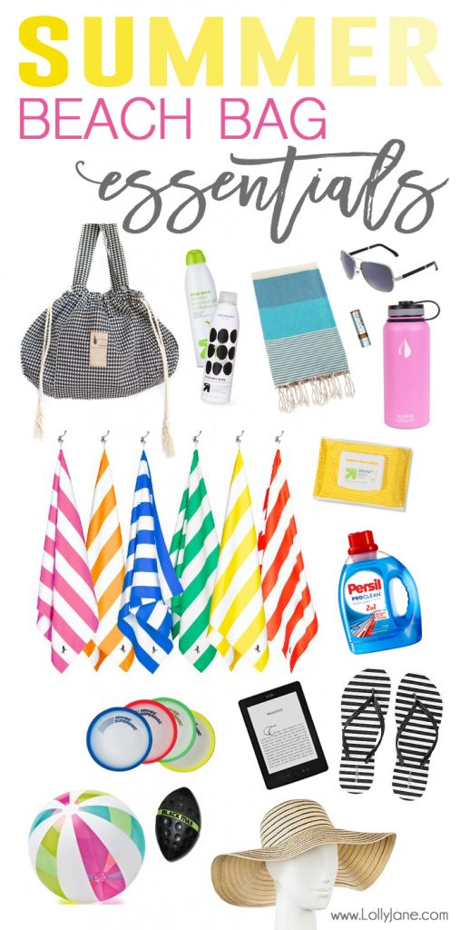 Summer Beach Bag Essentials Grab This List Of Everything You Need For A