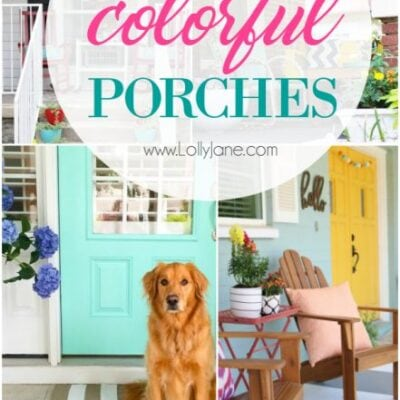 35 colorful porch ideas
