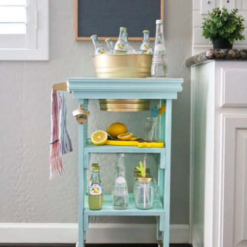 DIY Beverage Station sneak peek