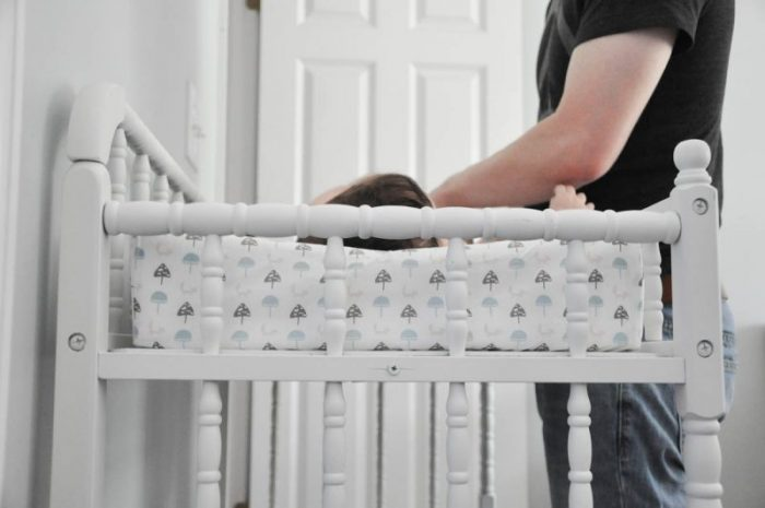 Simple changing pad cover tutorial. Great way to customize baby's nursery with this easy to follow changing pad tutorial. Great sewing tutorial!