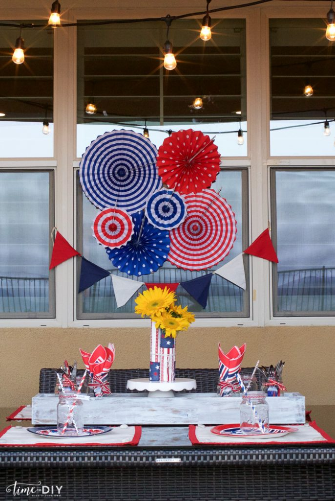 Easy 4th of July Decor