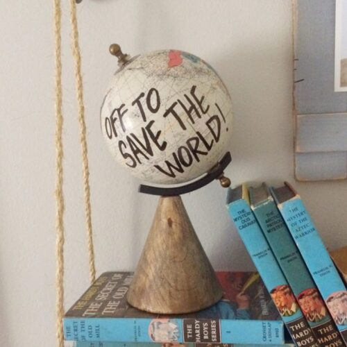 DIY Superhero Globe