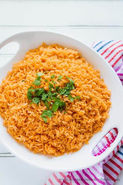 Easy Mexican Rice recipe, yum!