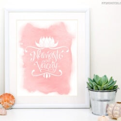 Boho Summer Printables with BONUS Silhouette Cut Files