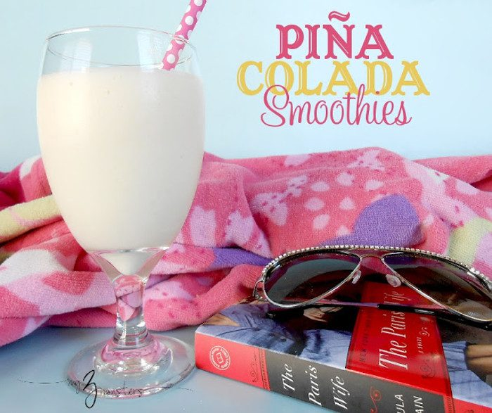 pina colada smoothies