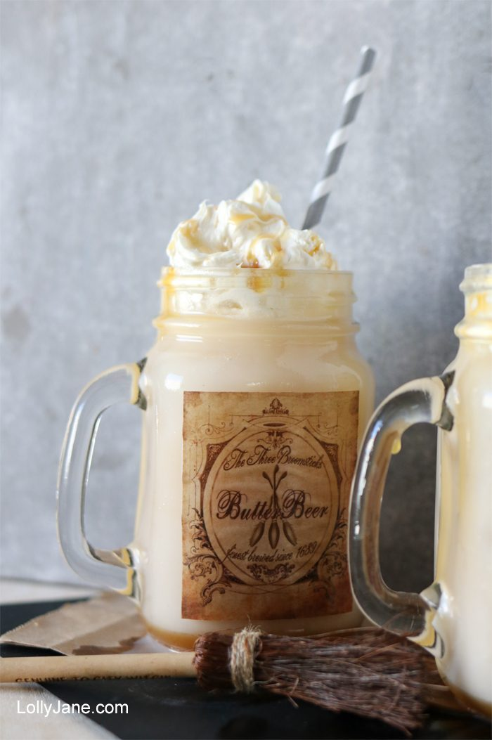 EASY and YUMMY Butterbeer Ice Cream Float!