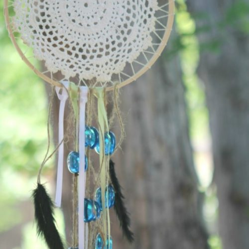 DIY Dream Catcher Wind Chime