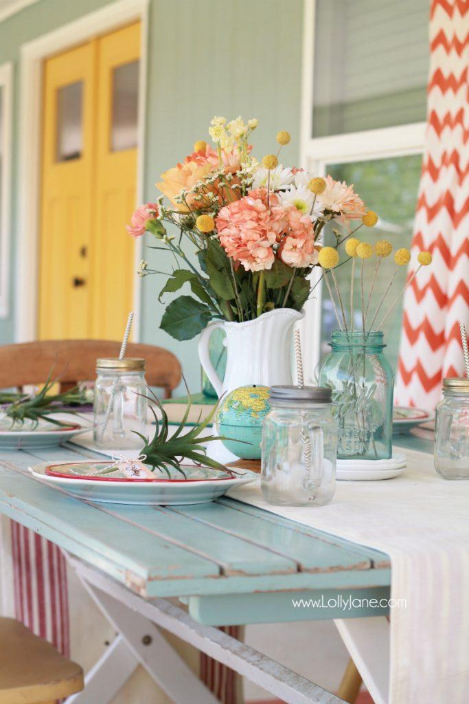 Outdoor Farmhouse Dining Ideas