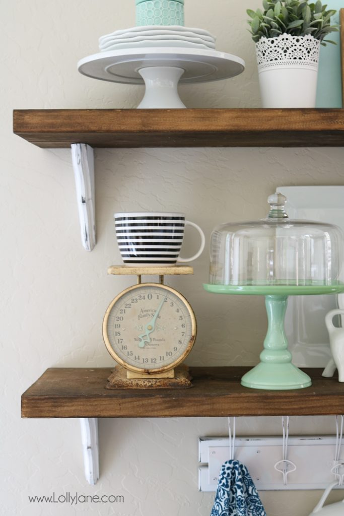 Beau Farmhouse Chic Dining Room Shelf Decorating Ideas... Love!