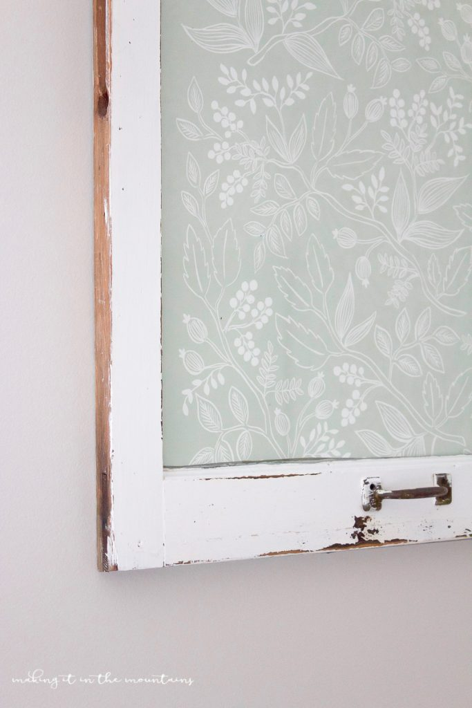Vintage window dry erase board tutorial! Love this old vintage window turned dry erase board. Great way to upcycle an old window!