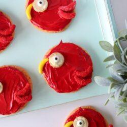 parrot sugar cookies