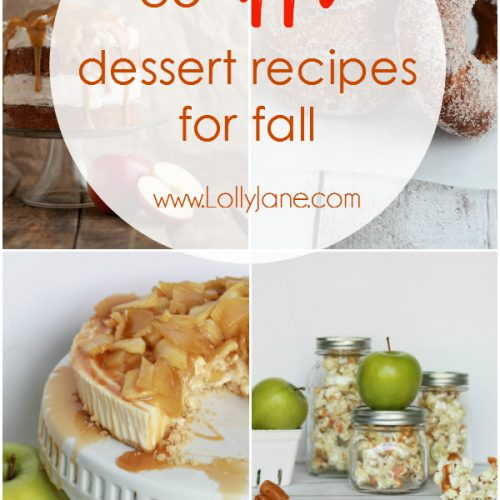 35 apple dessert recipes for fall