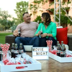 Outdoor Dinner and Movie Night Ideas