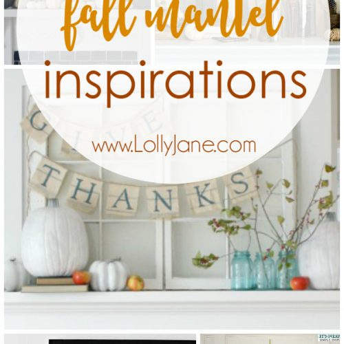 50 Fall Mantel Inspirations
