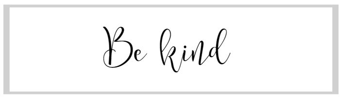 How to start a blog: Be kind.