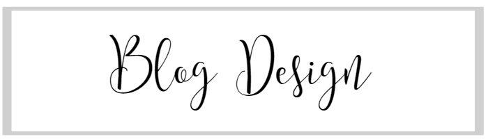 How to start a blog: Blog design.