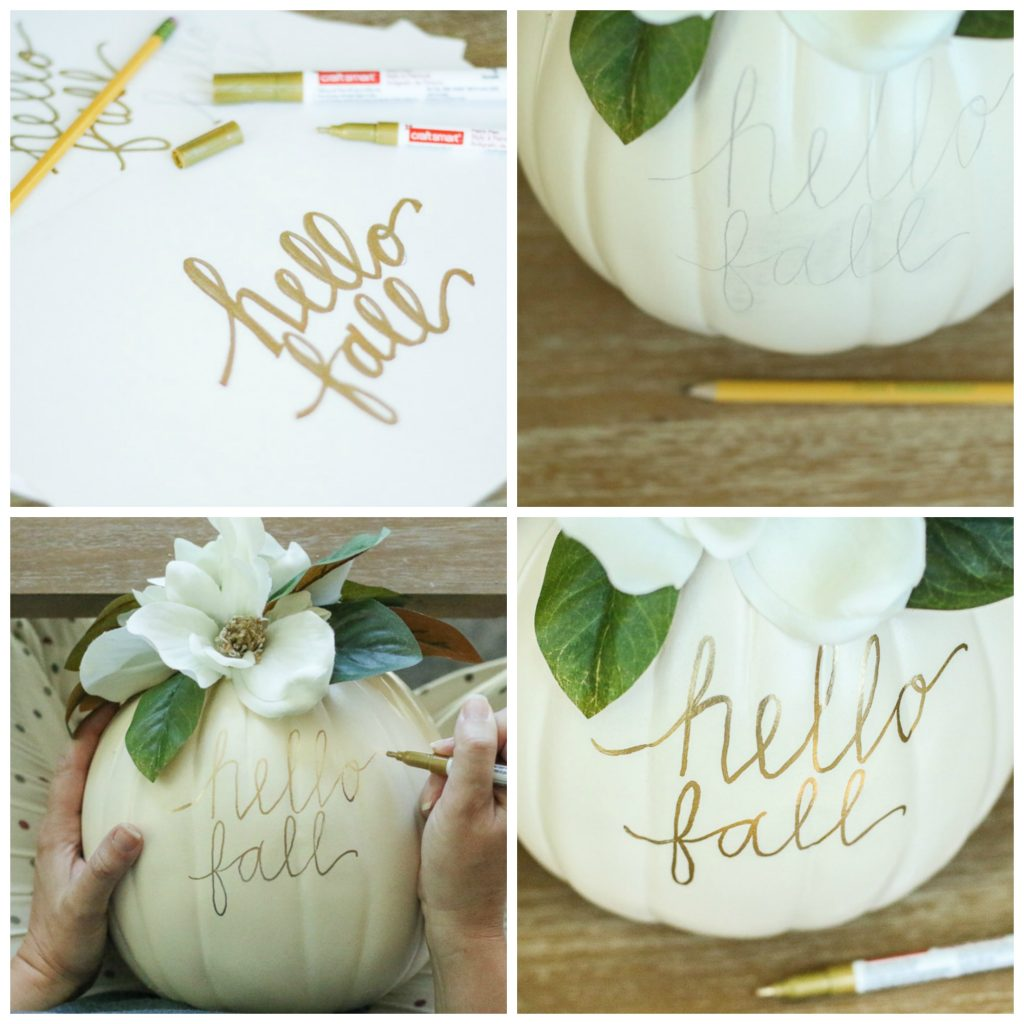 DIY Magnolia Thanksgiving Pumpkins | Creative Thanksgiving Decorations You'll Wish You'd Thought Of First