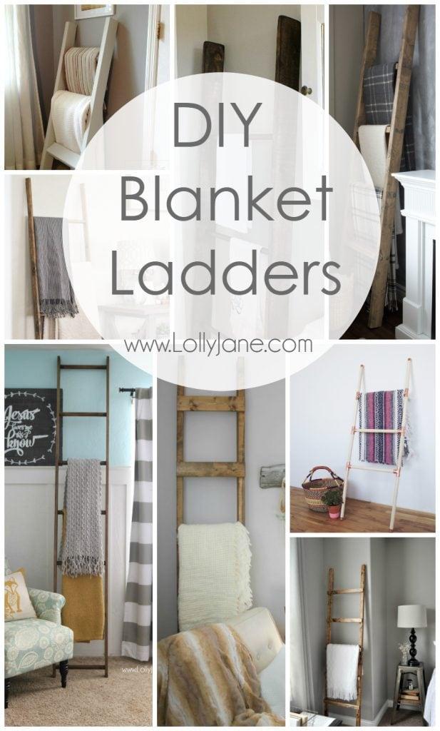 diy-blanket-ladders