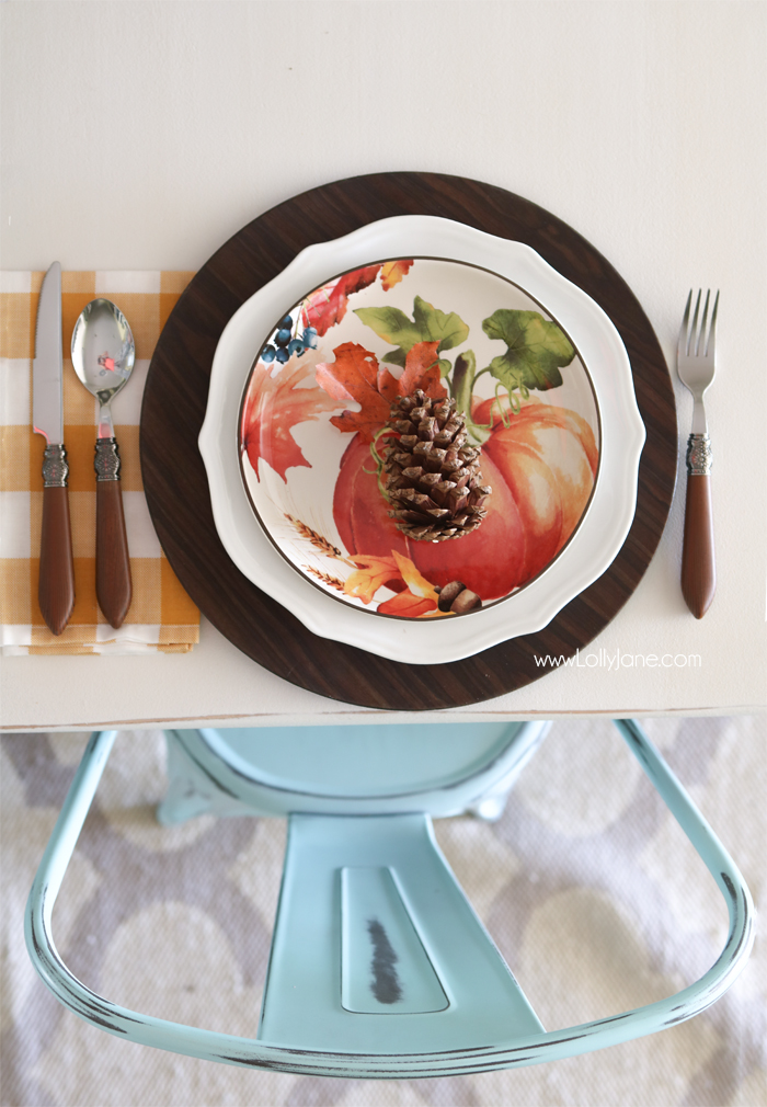 Easy Fall Tablescape Ideas to spruce up your space for autumn! Love BHG's new fall line, gorgeous! Perfect farmhouse chic styling!