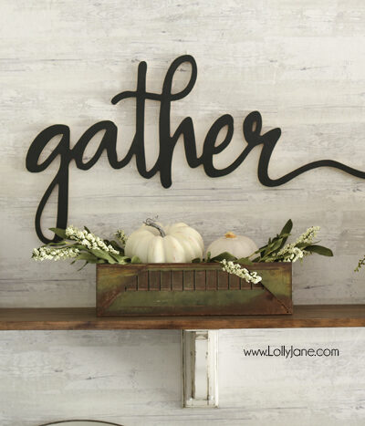 Easy Fall Tablescape Ideas to spruce up your space for autumn! Love BHG's new fall line, gorgeous!
