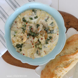 easy chicken sausage potato soup