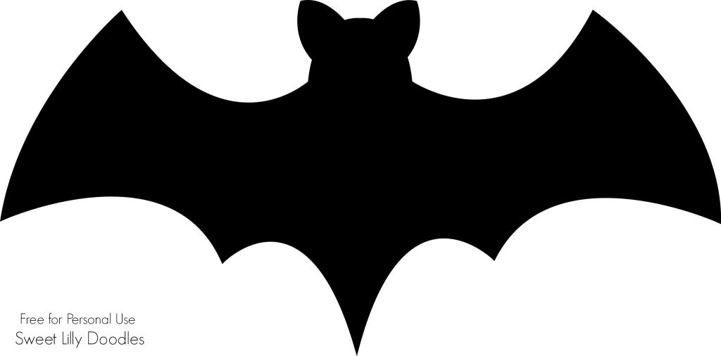 Persnickety image with regard to printable bats
