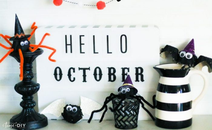 DIY Halloween Decor, so cute and EASY to make!