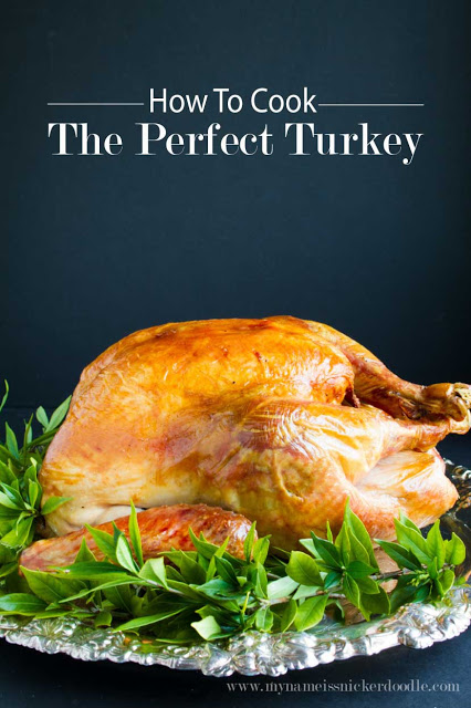 How to easily roast a whole turkey, the perfect turkey tips and tricks!