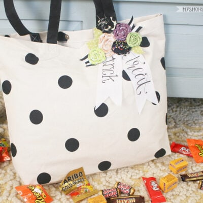 No-Sew Trick or Treat Bag