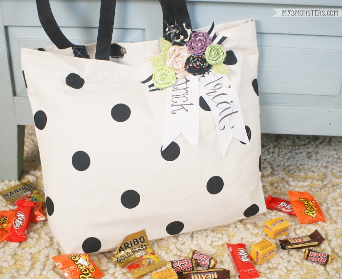 No-Sew Trick or Treat Bag